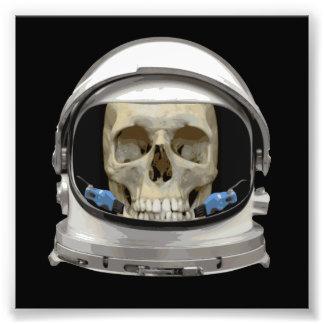 Space Helmet Astronaut Skull Photograph