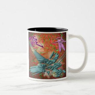 Space Hiccup Two-Tone Coffee Mug