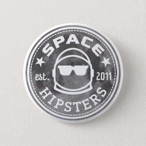 Space Hipsters Apollo 50 Lunar Button
