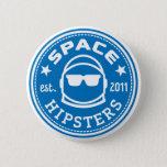 """Space Hipsters&#174; Logo Button<br><div class=""""desc"""">Standard size 2-1/4&quot; button</div>"""