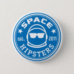 "Space Hipsters® Logo Button<br><div class=""desc"">Standard size 2-1/4"" button</div>"