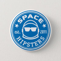 Space Hipsters® Logo Button