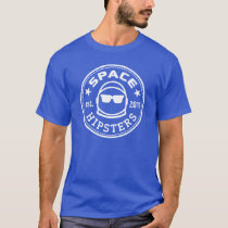 Space Hipsters® Men's Logo Tee (Royal Blue)