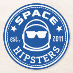 "Space Hipsters Square Coasters (6 pack)<br><div class=""desc"">Now your space whiskey has a landing pad. Not recommended for use in zero-g environments!</div>"