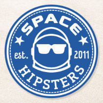 Space Hipsters Square Coasters (6 pack)