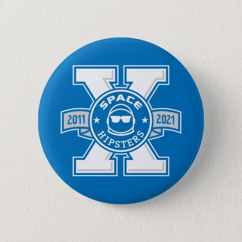 Space Hipsters X Logo Button