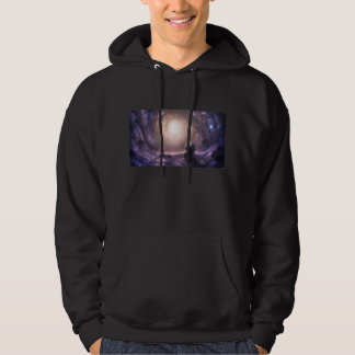 SPACE HOODED PULLOVER