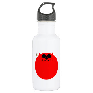 Space Hopper Kat Water Bottle