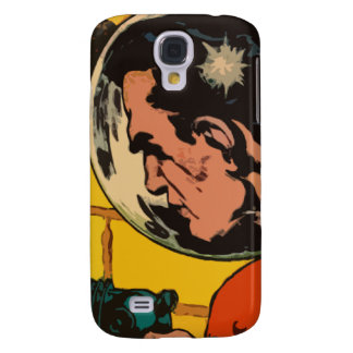 Space Horror - Vintage Science Fiction Comic Art Samsung Galaxy S4 Case