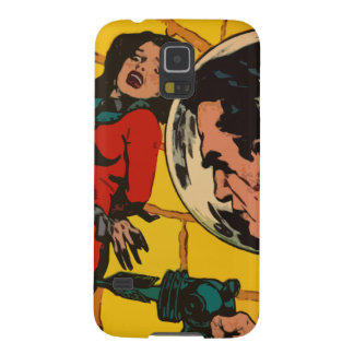 Space Horror - Vintage Science Fiction Comic Art Galaxy S5 Cases