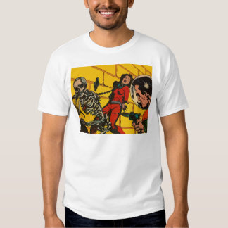 Space Horror - Vintage Science Fiction Comic Art T-Shirt