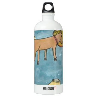 Space Horse Planet Water Bottle