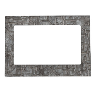 Space Hull Magnetic Photo Frame