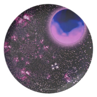 Space Image 3 Dinner Plates
