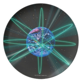 Space Image 7 Dinner Plate