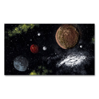 Space Image (new 1) ~ sans signature.jpg Magnetic Business Cards (Pack Of 25)