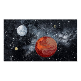 Space Image (new 2) ~ sans signature.jpg Double-Sided Standard Business Cards (Pack Of 100)