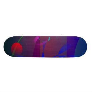 Space in the Deep Sea Skateboard Decks