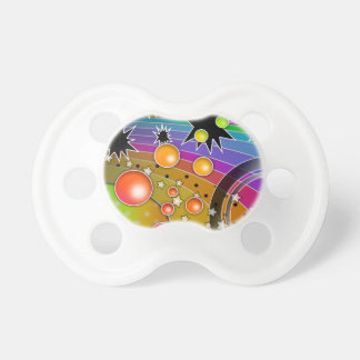 SPACE INSPIRED ASTRONOMICAL PACIFIER