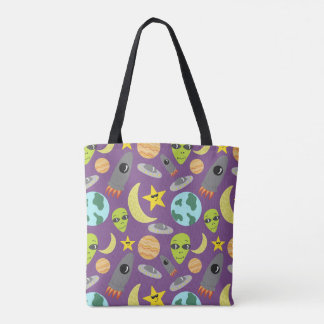 Space Invader Tote