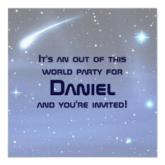 Space Personalized Invitations