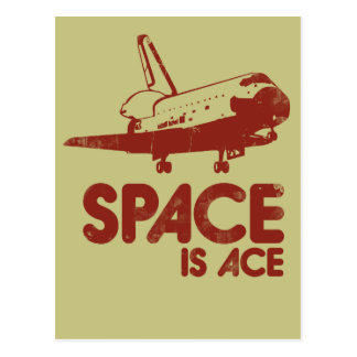Space is Ace Postcards