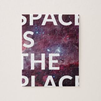 Space Is The Place Fun Big Planet Jigsaw Puzzle