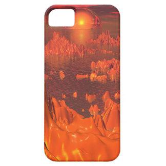 Space Islands of Orange iPhone 5 Cover