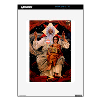 Space Jesus iPad Decal