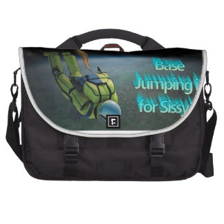 Space Jumping - Base Jumping is for Sissy s Commuter Bags
