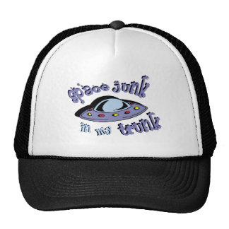 space junk in my trunk trucker hat
