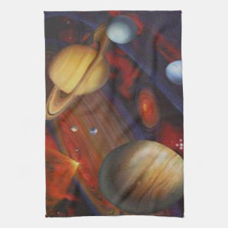 Space Kitchen Towel