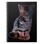 Space Kitten Spiral Notebooks