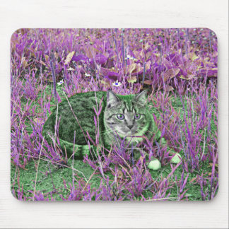 Space Kitty Mouse Pad