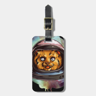 Space Kitty will boldly go..... Yes, it's a ginger Bag Tag