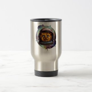 Space Kitty will boldly go..... Yes, it's a ginger Travel Mug