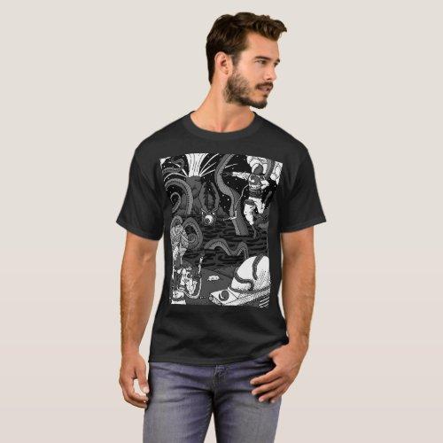 Space Kraken T-shirt 2