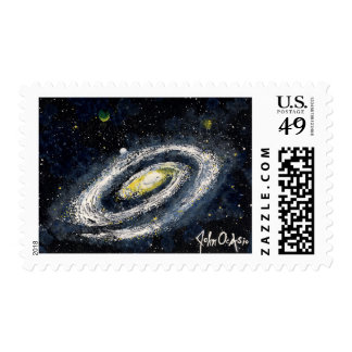 SPACE LARGE GALAXY (design 14) Postage
