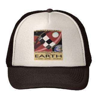 Space Liner Advertisement Mesh Hats