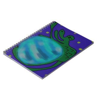SPACE LIZARD!!! Space lizard* Spiral Notebook