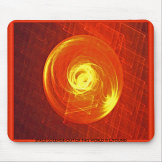SPACE LOZENGE-SOOTHING, SPACE LOZENGE-OUT OF TH... MOUSE PAD
