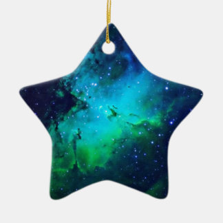 Space m16 Nebula Ceramic Ornament