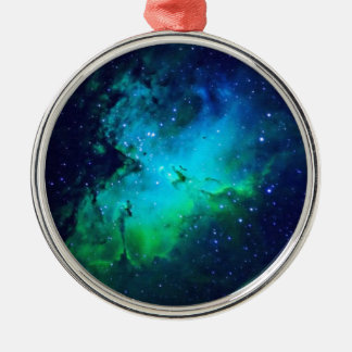 Space m16 Nebula Metal Ornament
