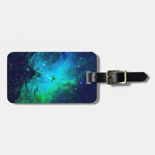 Space m16 Nebula Tags For Luggage