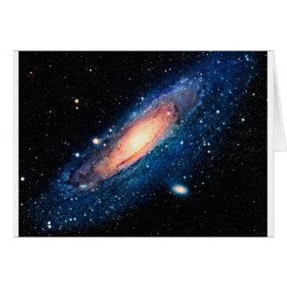 Space -m31 spyral galaxy card