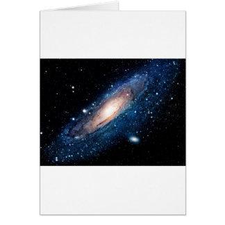 Space m31 spyral galaxy card