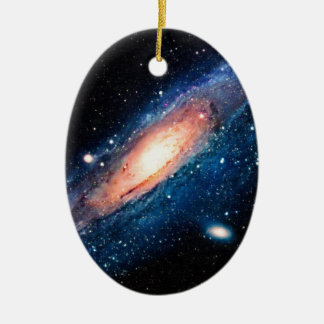 Space -m31 spyral galaxy ceramic ornament