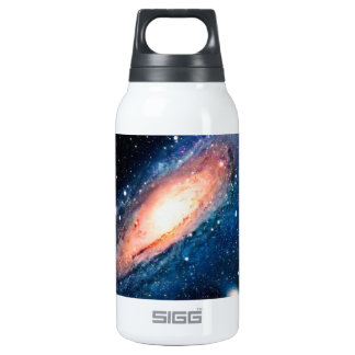 Space -m31 spyral galaxy insulated water bottle