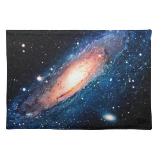 Space -m31 spyral galaxy placemat