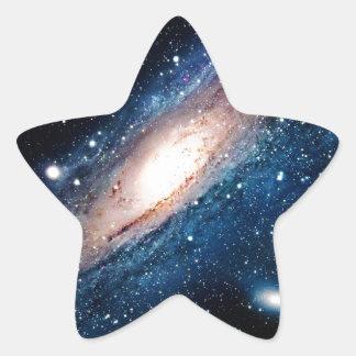 Space m31 spyral galaxy star sticker